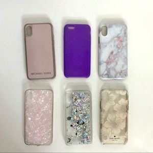 ALL 6 iPhone 10 cases - MICHEAL KORS, KATE SPADE